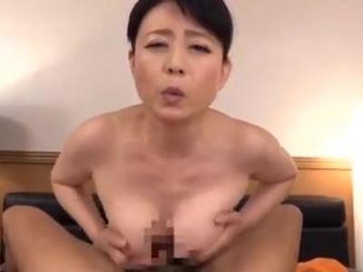 Japanese mom seduces daughter',s boyfriend