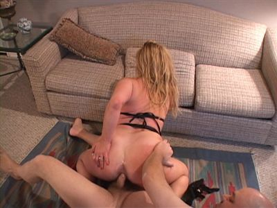 Big Tit Dirty Blonde MILF Gets Butt Fucked Hard