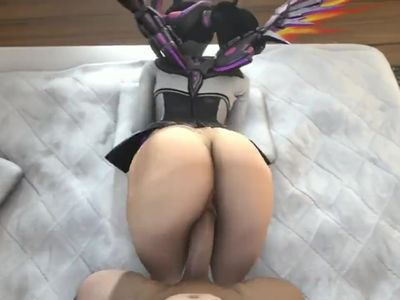 mercy enjoying a naught spanking fuck from behind has sound imp ver