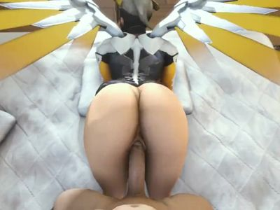 mercy enjoying a naught spanking fuck from behind has sound normal ver
