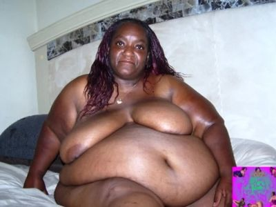 Big Mama in black on the bed picture show!