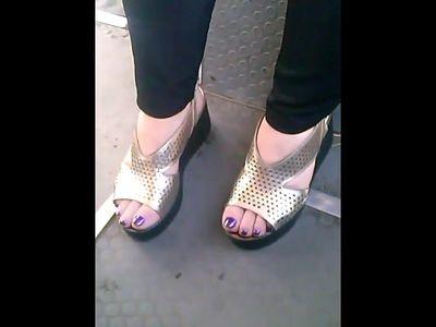 candid mature feet in bus closeup CAM07034-36 HD
