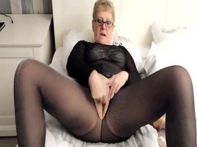 Lurex Pantyhose Fucking