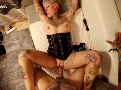 My Dirty Hobby - Mature tattoed babe gets slammed