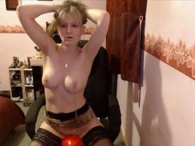 MILF and the cock pillow