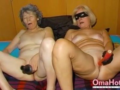 OmaHoteL Horny Granny Nun Tries BDSM Sex With Toy