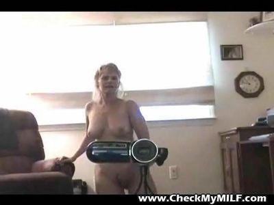 Check My MILF Amateur Granny home made masturbation video
