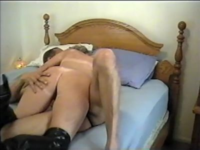 Black Man Making out with White Married Woman