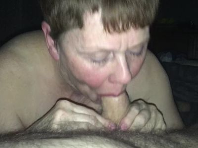 Useless beth H sucks her Master's cock and swallows