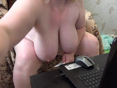fisting anal and masturbation mature milf with big natural tits
