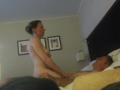 Amateur British couple hotel sex