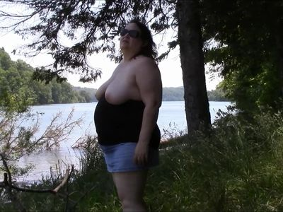 Laura at the lake