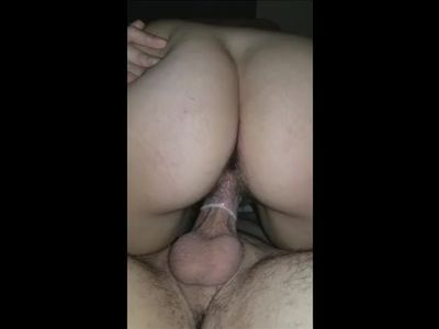 Sexy young stranger came over to play. She get's so CREAMY on his big cock!