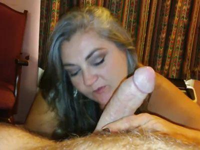 beautiful granny super blowjob