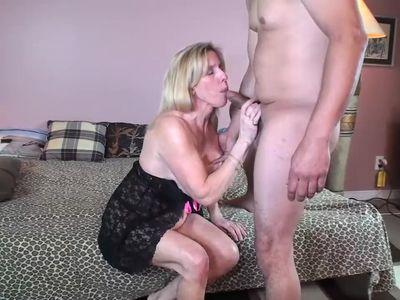 Petite MILF Carol Cox Fucks A Young Pornhub Subscriber
