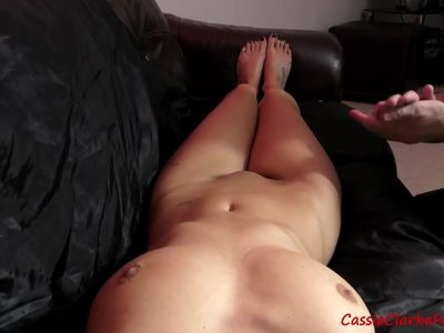 Humiliation - Slave Cums No Hands When Told To Massage Her - Cassie Clarke