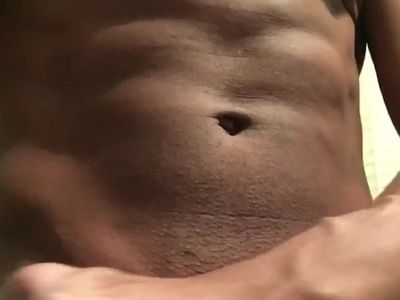 Muscle showing - Post workout Shower