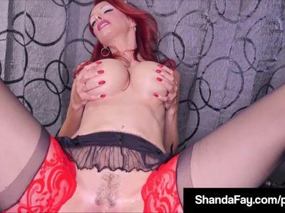 Smoking & Squirting Fans Enjoy As Housewife ShandaFay Fucks!