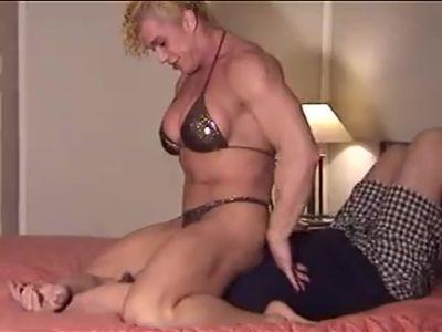 Nicole B. Femdom Bed