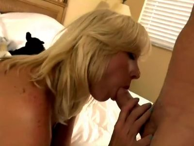 Busty Blonde Squirts while Fucking