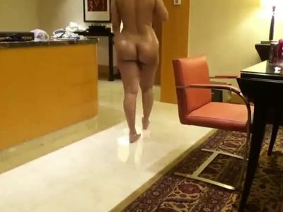 Indian aunt in hotel with boss