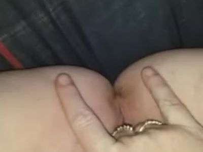 Husbands wife rubbing herself off for me