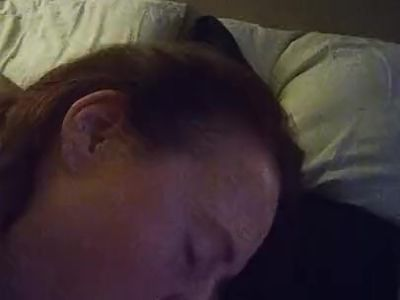 Friends wife sucks my cock during superbowl