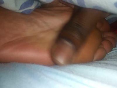 Lesbian friend Sleeping feet pt 1