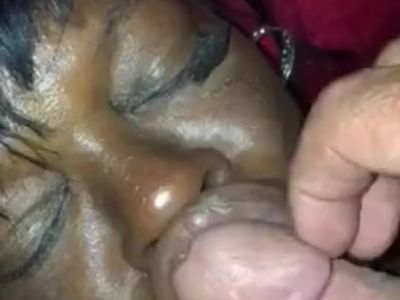 Black Crackhead With Big Lips Get Facial