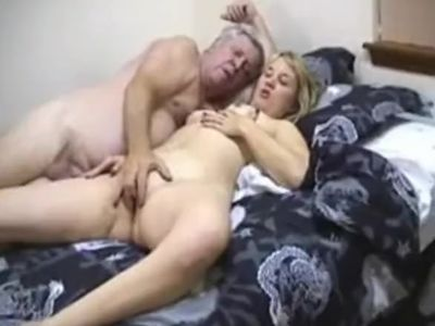 Old man teaches girl how to fuck