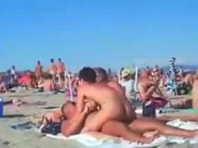 sex na plaży