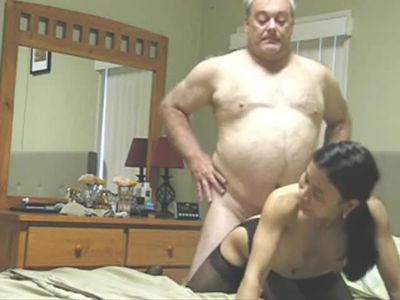 Filipino lady and old man