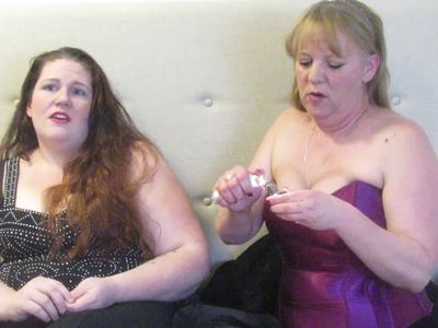 Mistress Cassidy & Princess-Gemini chatting about our inky swingers parties