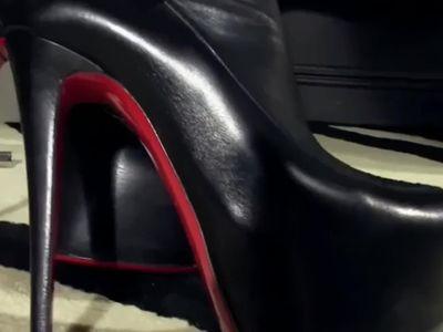 ALa NyLons l Lick Boots l Cumshot Compilation l -SUPER XXX