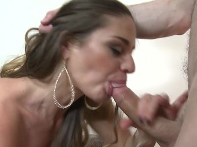 Sexy busty mom gets anal sex