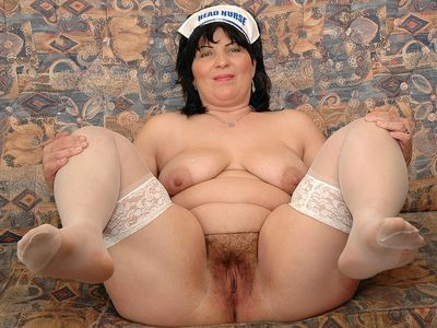 Nasty mature nurse Rosalia