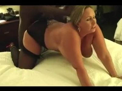 Blonde Mature Wife Fuck in her ass with bbc