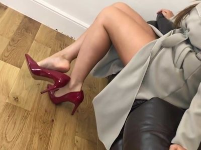 Sexy mature shoes...