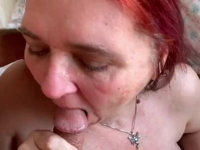 Amateur Mature Takes Cum In Mouth