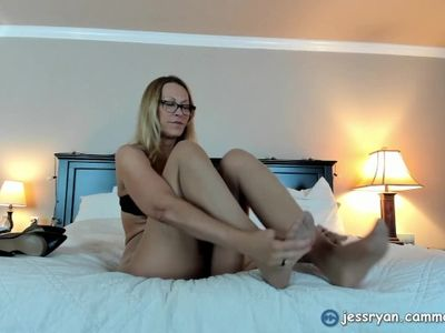 Gerald's Pantyhose Cross Dressing Custom Foxy Milf Jess Ryan