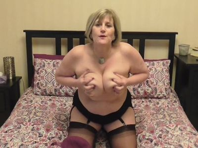 Come and play with my huge, heavy tits!