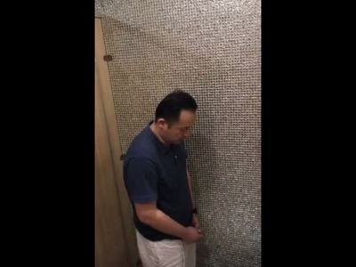Mature Asian Daddy Public Jerk Off