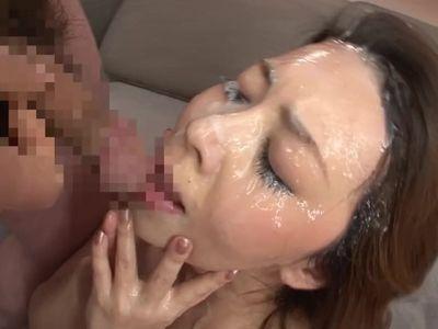 Yumi Kazama - Mature Shower Bukkake