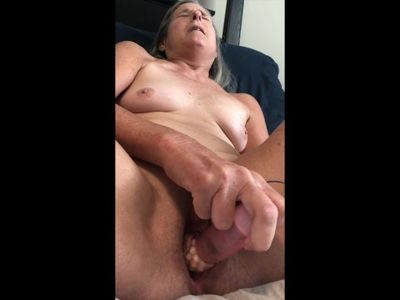 Hot MILF Plays With Her Favorite Rabbit Vibrator Mature Granny 60 Year Old