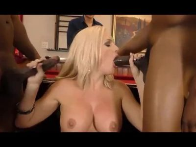 Sexy Alena Croft needs black dick to please her right