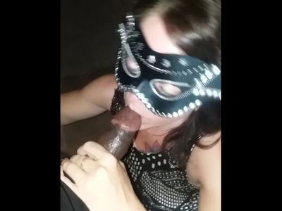 Her Idependence Day involved sucking black cock.