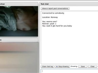 Chatroulette #28 - Hard Nipples -