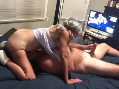 Hot MILF Does 69 With Her Husband Ends With Cumshot Granny Mature 60 years