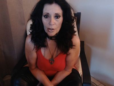 MISTRESS MARKY destroys your 2 and 1/2 inch cock!!