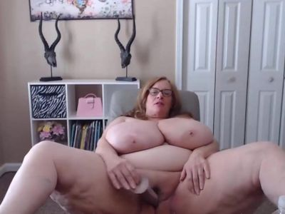 Mature bbw swings large tits